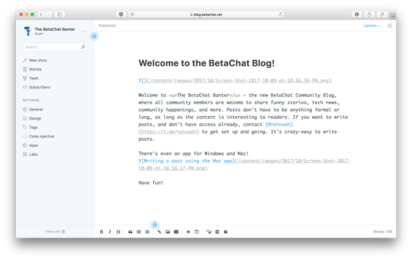 Welcome to the BetaChat Blog!